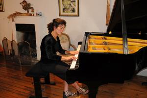 Claudine Boymond au piano